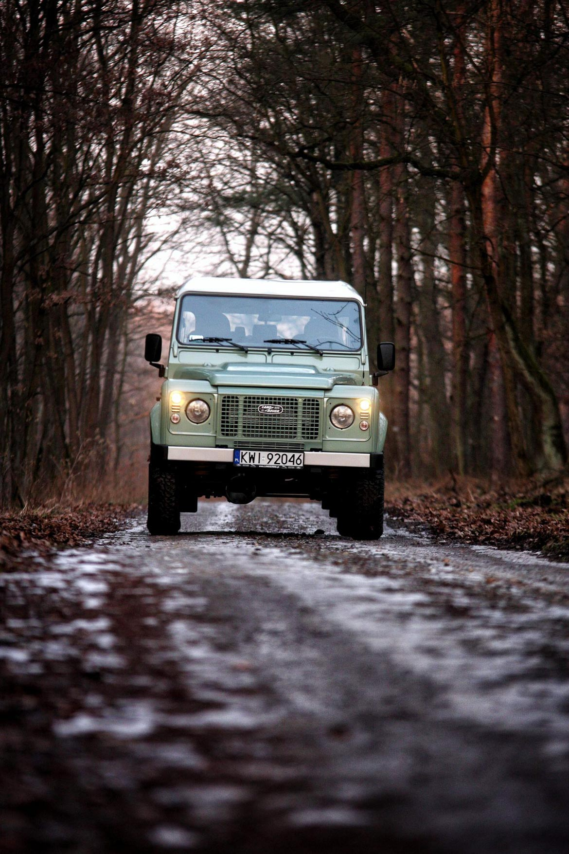 Land Rover Defender Factory