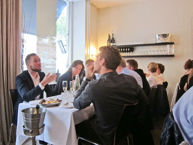 Laurent-Perrier restaurant no 1-14