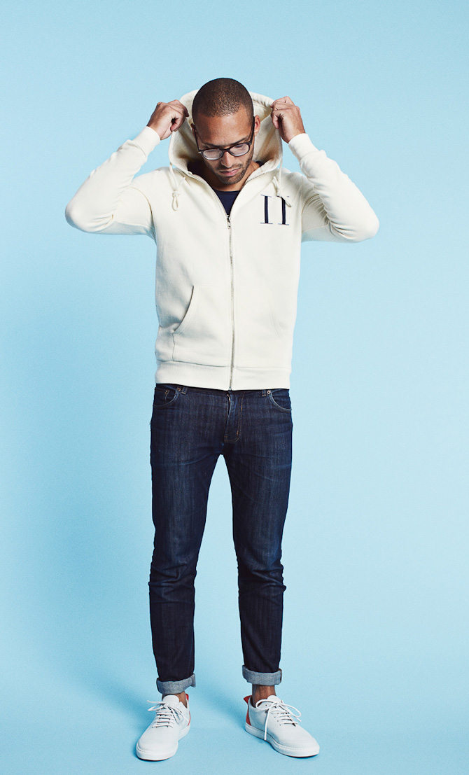 Les Deux hoodie Welles creme white 799kr