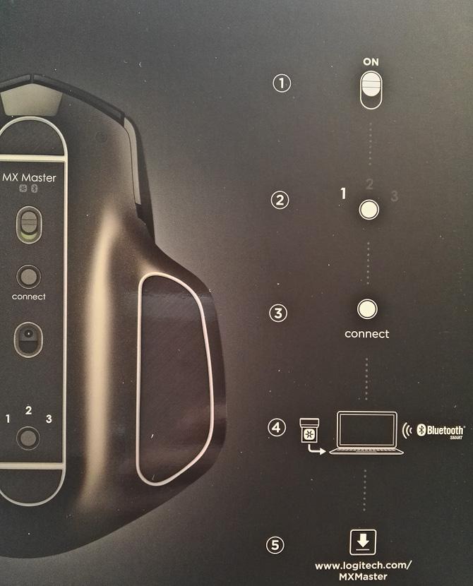 Plug and play - og så alligevel ikke, for musen er jo trådløs og skal sjældent oplades.