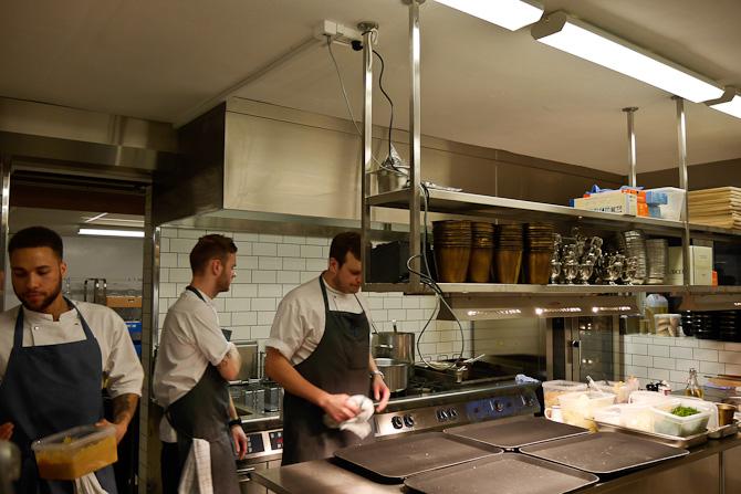 Køkken crew