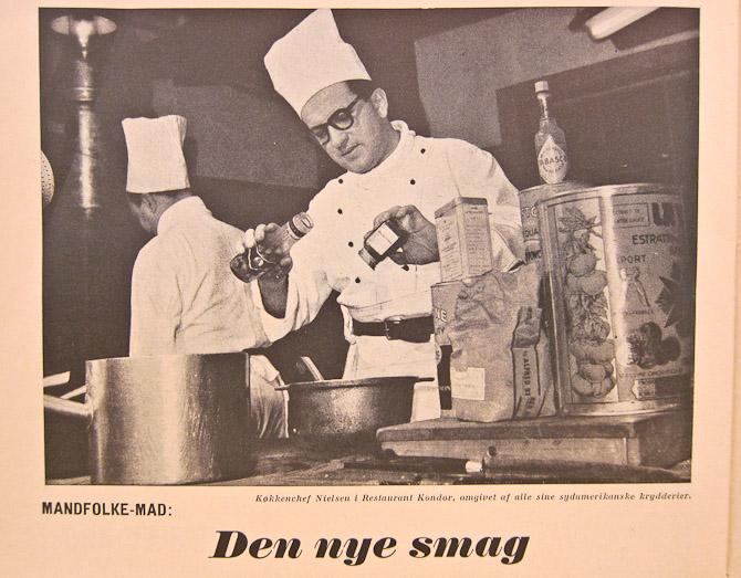 Gastromand med eksotiske krydderier