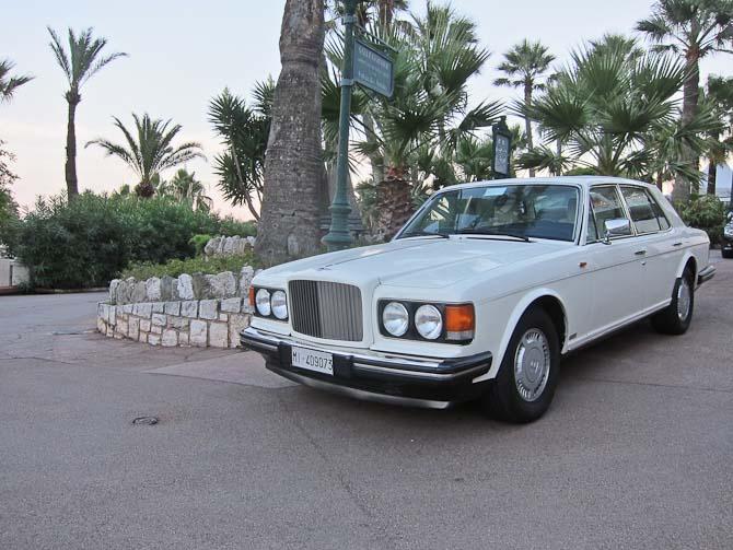 Bentley - spottet ved Casino de Monte Carlo