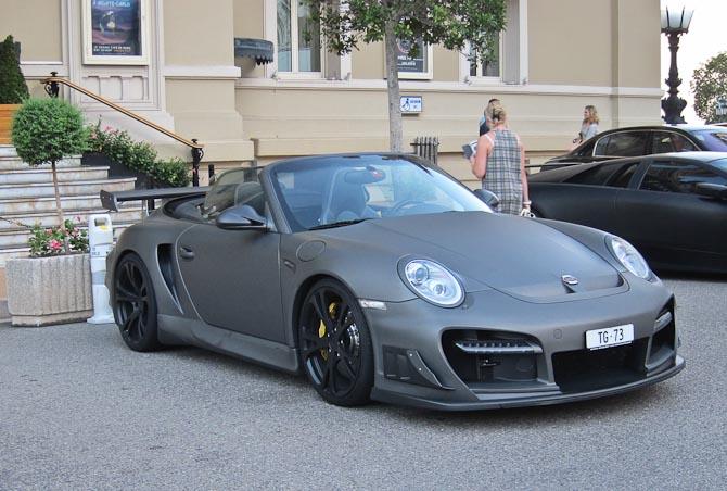 Matlakeret eller folieret Porsche