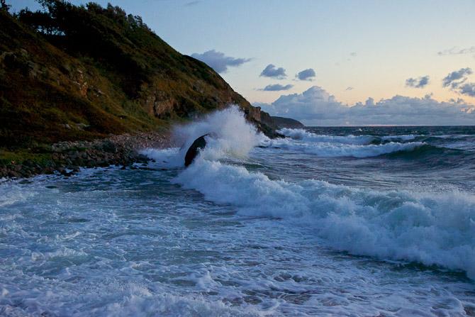 "Da der er tale om en Seamster, kan vi jo passende krydre med ""sea photo"". Foto: Thomas Knudsen"