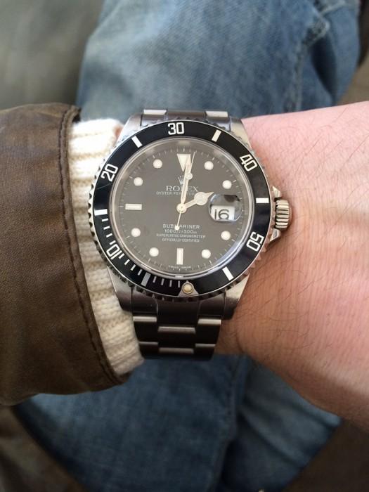Klassisk Rolex fra Peder V