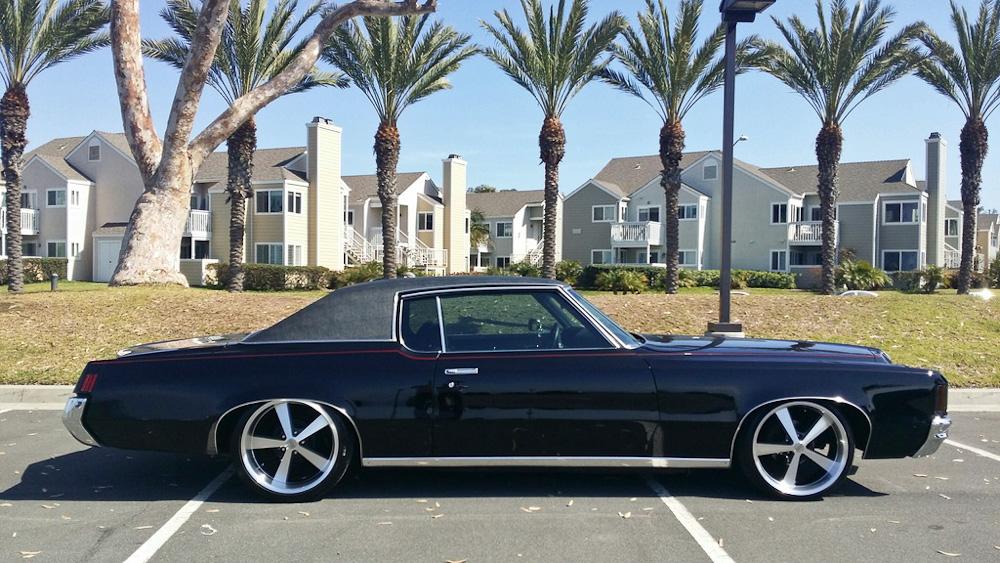 Her er en Pontiac fra - og i - Amerika. Men nu er den kommet til Danmark.