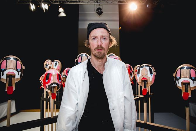 Portræt af Henrik Vibskov