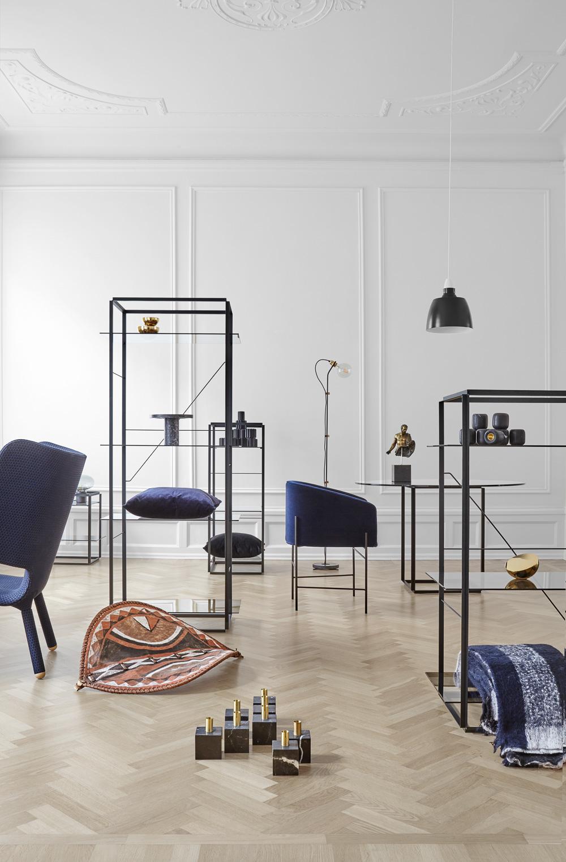 Hougaards Covent Chair i flotte omgivelser.
