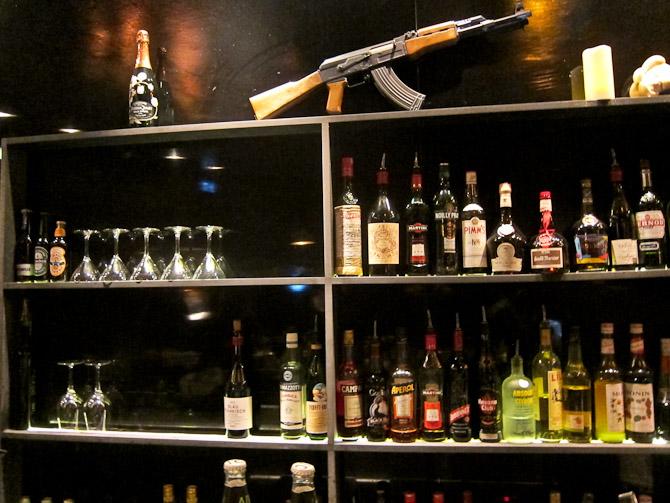 Bar og skyder