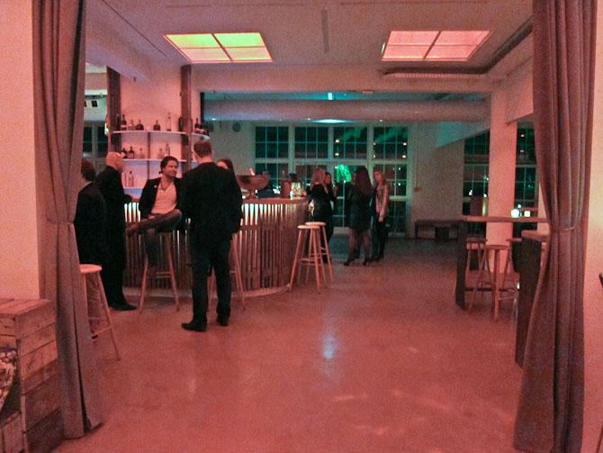 Bar og klubområde