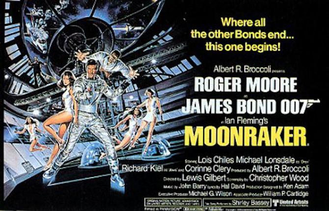 Bond goes Moonraker