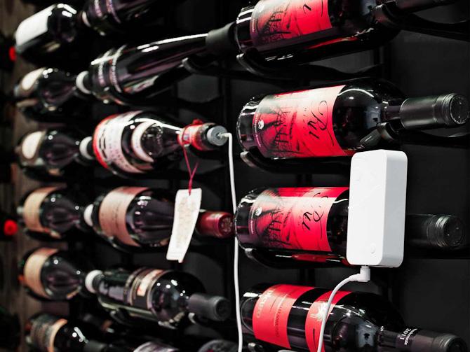 Styr på flaskerne i kælderen