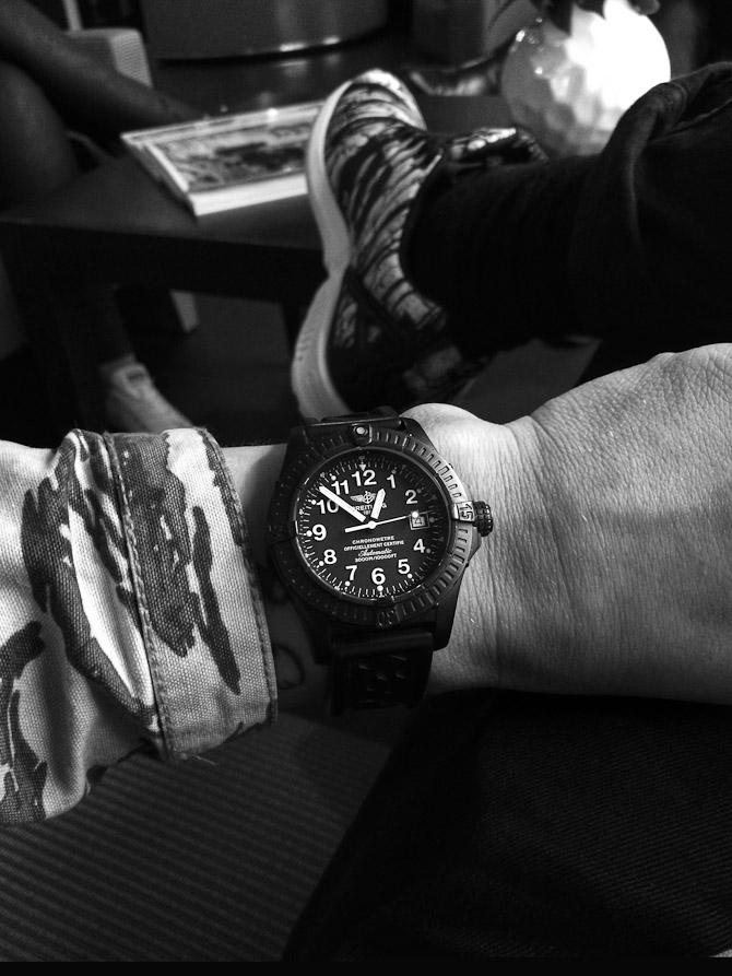 Breitling in Paris. Tak til Simon Veiby.