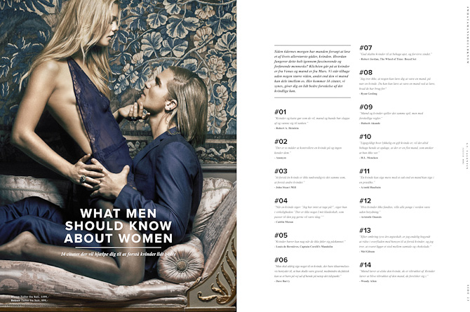 Ting, der er værd at vide om kvinder...