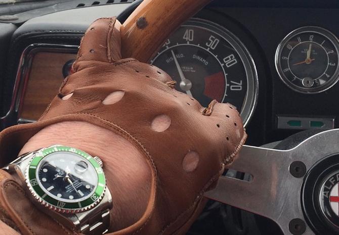 Stig Hartmann Brask med køreluf og Kermit