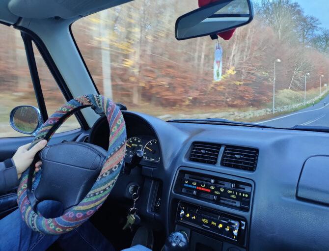 Suzuki X90 interior
