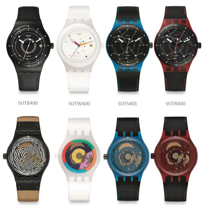 De første Swatch Sistem51