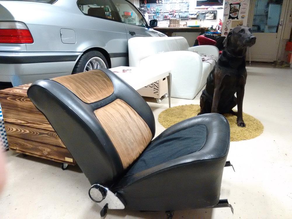 Afmonteret sæde