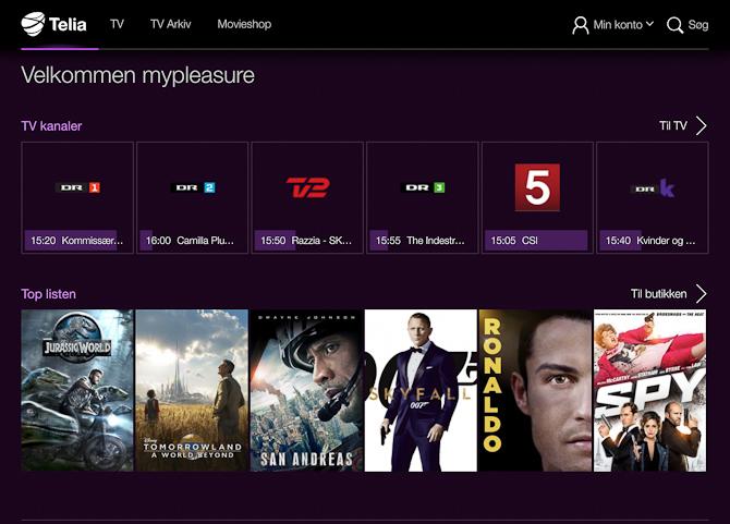 """Hvis du ikke har """"abo"""" til TV2 Play, så kan du få det med Telia..."""
