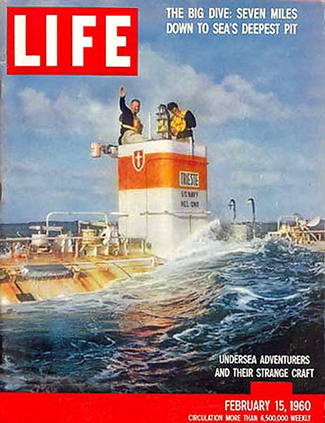 Et dyk, en besætning og en forside, som skrev sig ind i historien. Og på forsiden af Life