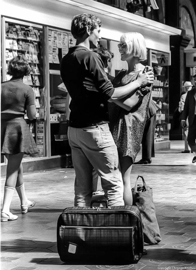 Kærlighed på Hovedbanegården anno 1969