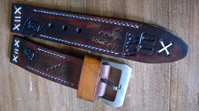 XL buckle og tre huller