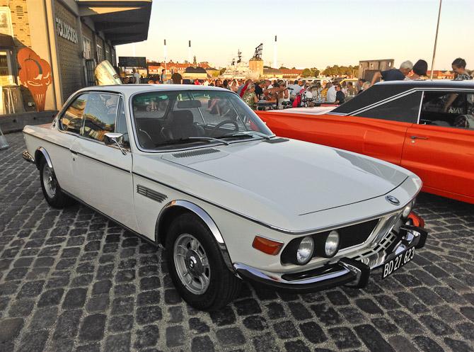 Ældre og flot BMW Coupé