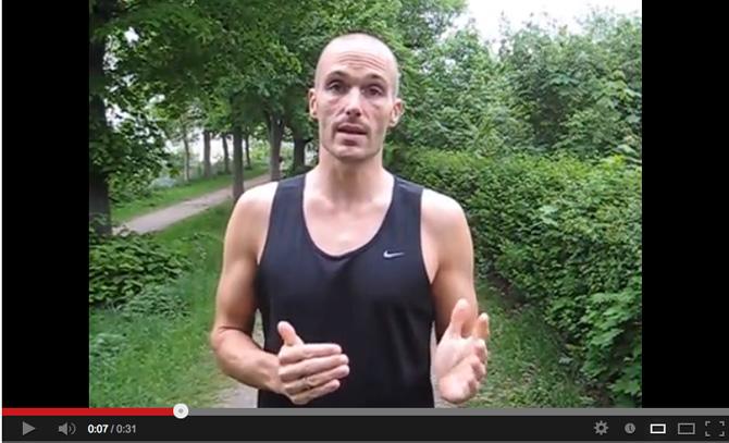 Hvad Søren? Nej. Det er Tor. Og i dag giver han videotips til bedre løbepræsentationer!