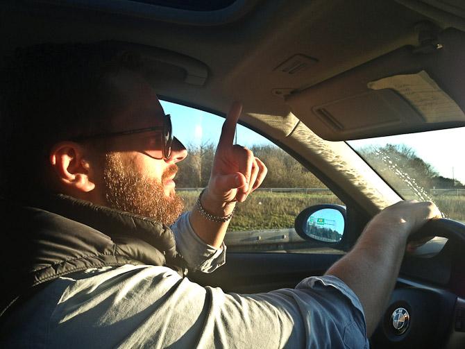Vi kørte med Kavver