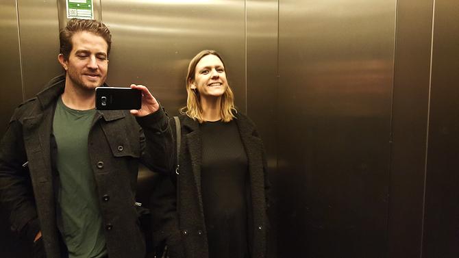 Et andet sted - en anden elevator