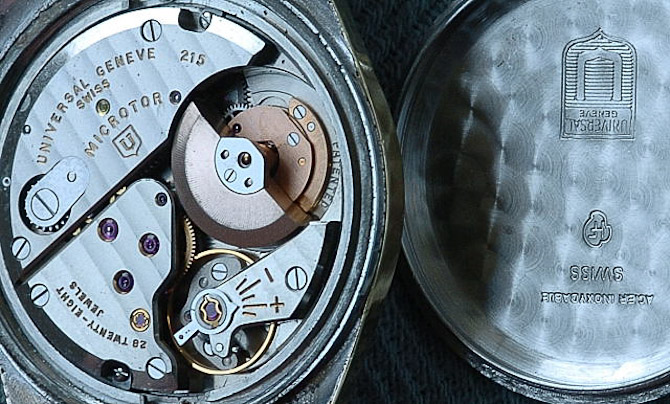 Mikro-rotoren finder du også i uret