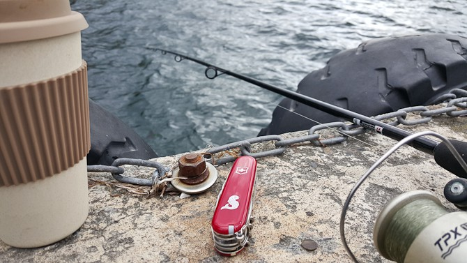 Ingen fangst denne gang - men masser af feel good