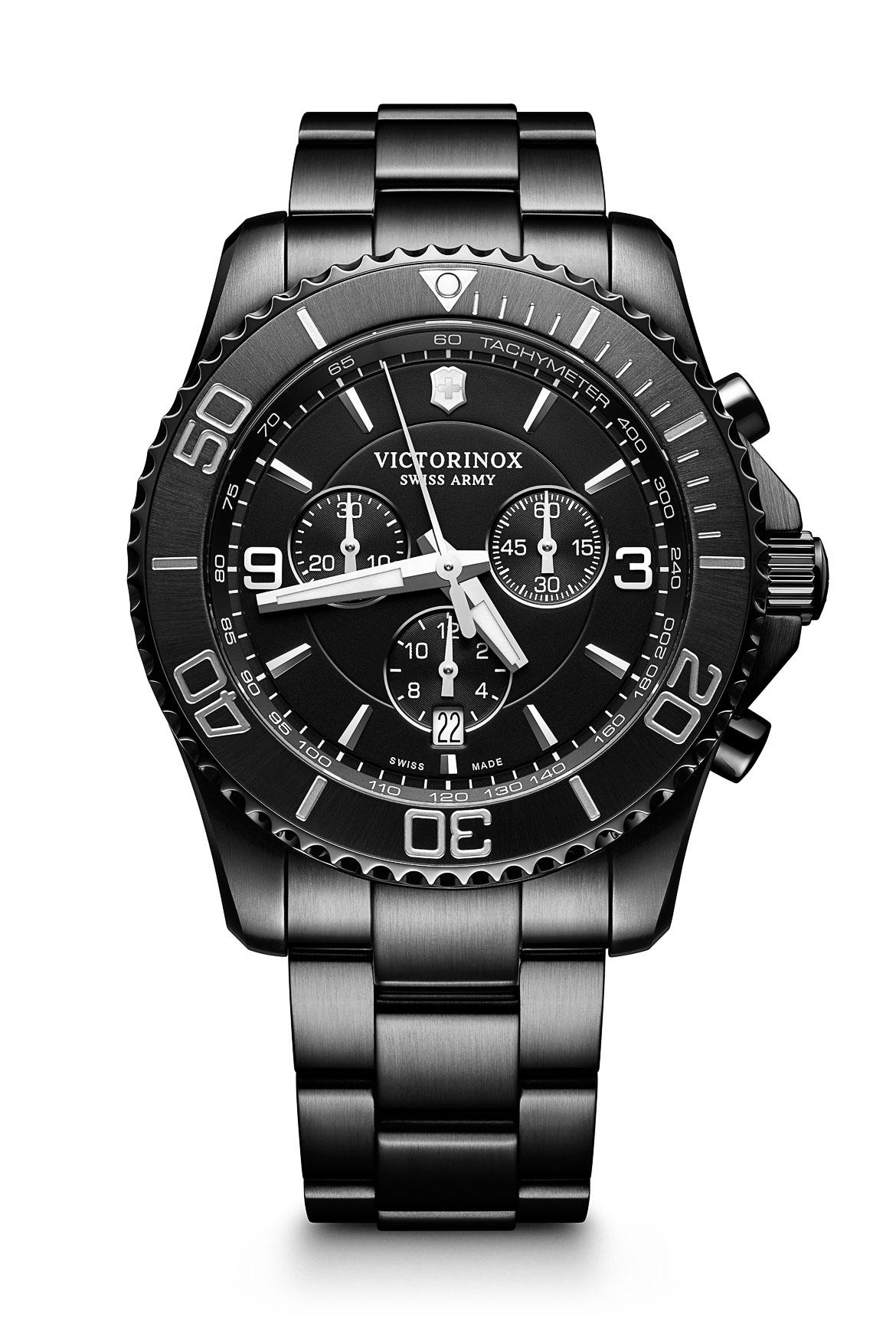 For knapt 5.000 kroner schweizisk ur: Victorinox Maverick Black Edition