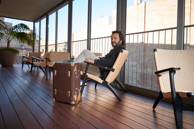 Mauro Bianucci - det er ham her, der har skabt designet. Han er oprindelig uddannet arkitekt og har blandt andet arbejdet for Apple.