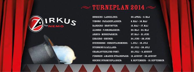 Årets tourplan