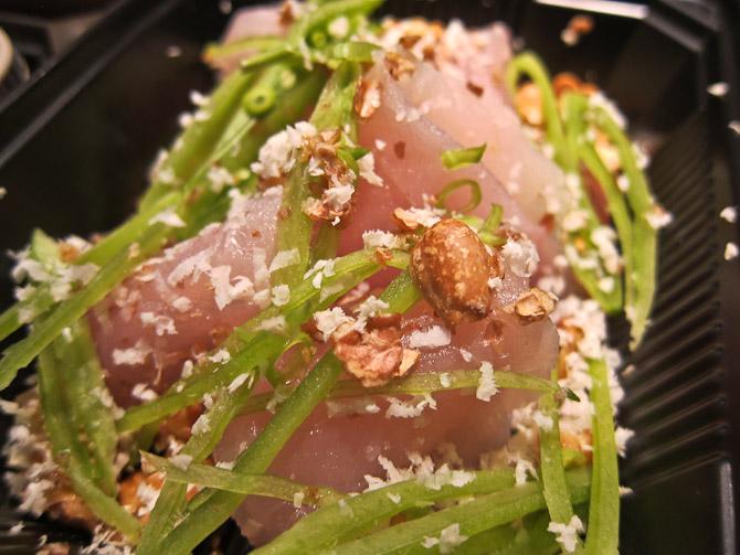 Denne omgang seviche blev hjembragt og nydt. Og er svært velsmagende. Og nok en favorit blandt alle de hjembragte godter