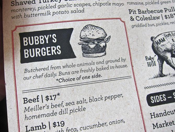 This hamburger, please.