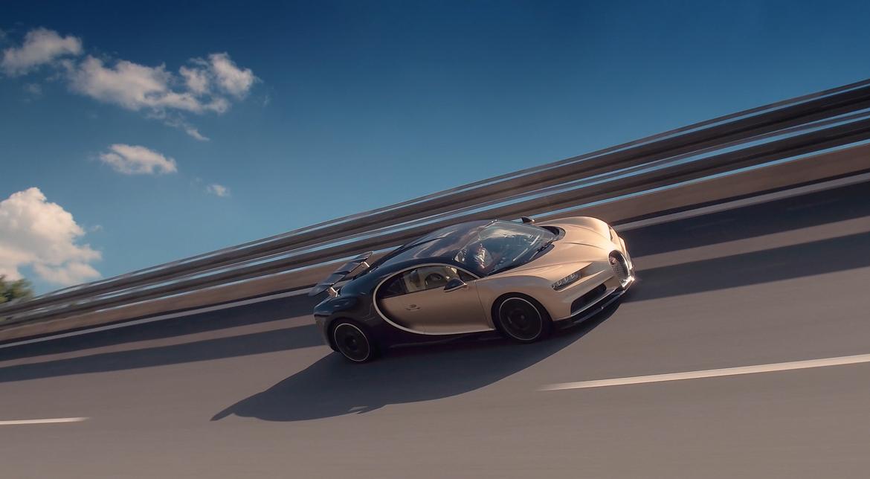 Bugatti Chiron drive modes