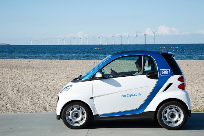 Ud og se med... Car2Go. Eventuelt med hjælp fra andre transportformer.