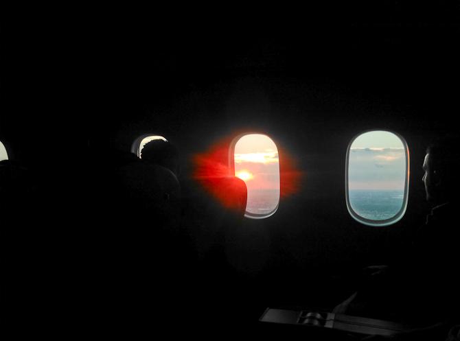 Fra vejen til luften.