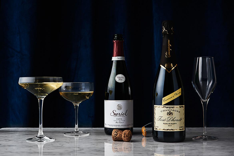 cava champagne
