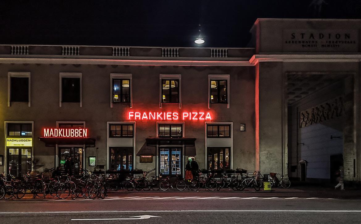Frankies Pizza østerbro