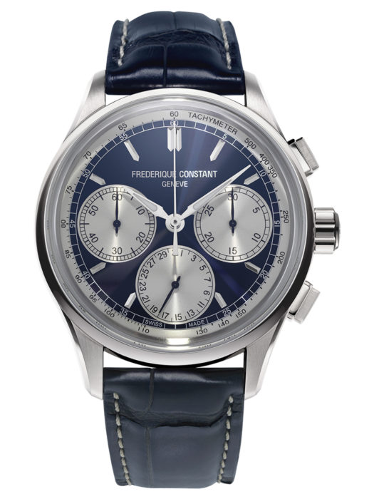 Frederique Constant Flyback Chronograph steel
