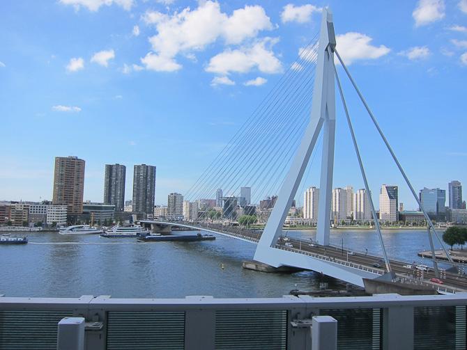 Bro og flod