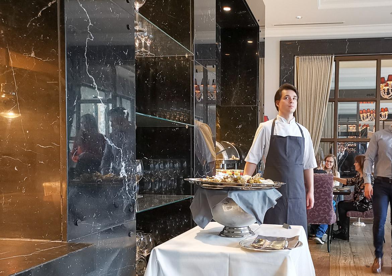 søndagsbrunch Hotel d'Angleterre Marchal