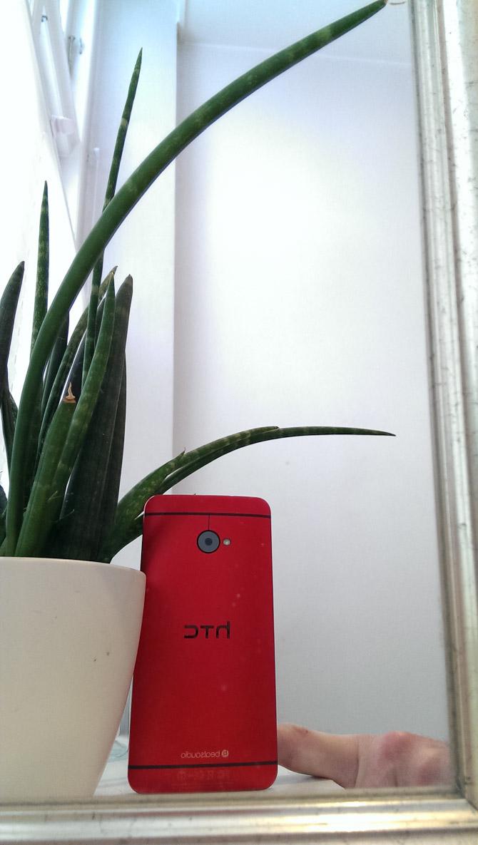 HTC One selfie. Med lidt hjælp.