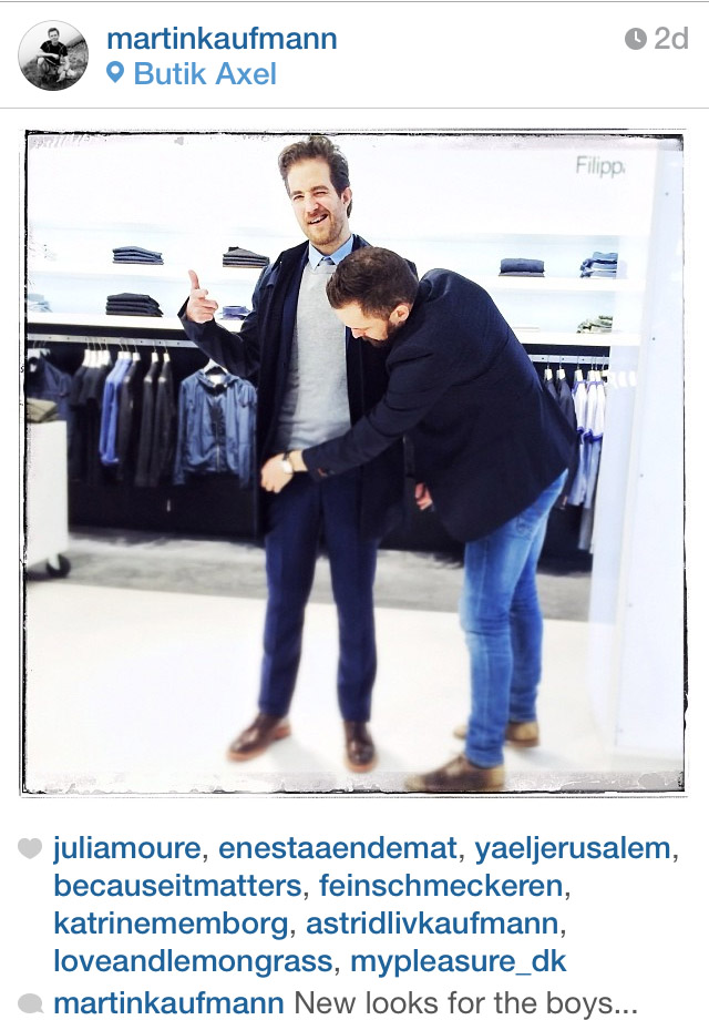 Og Mikkel gav en hjælpende hånd...