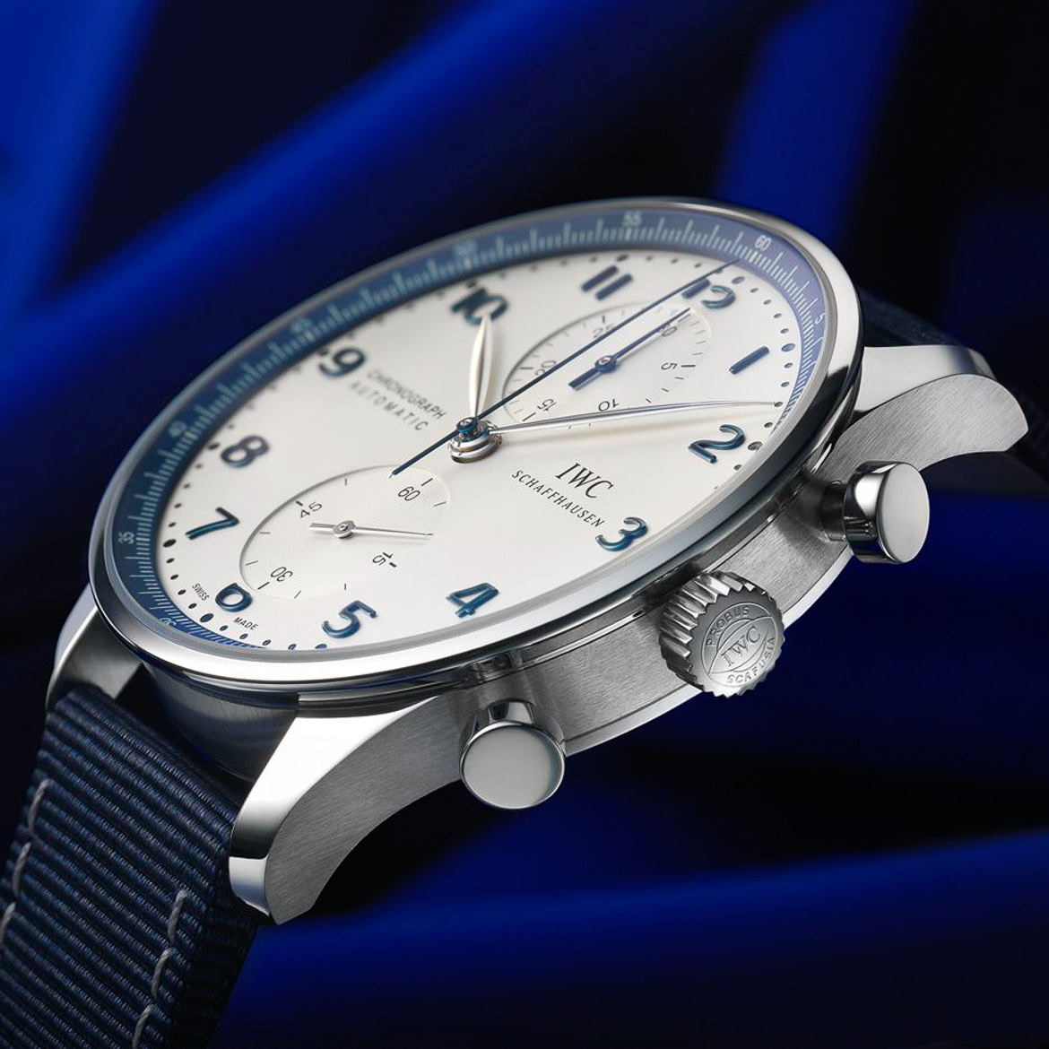 IWC Bucherer Blue