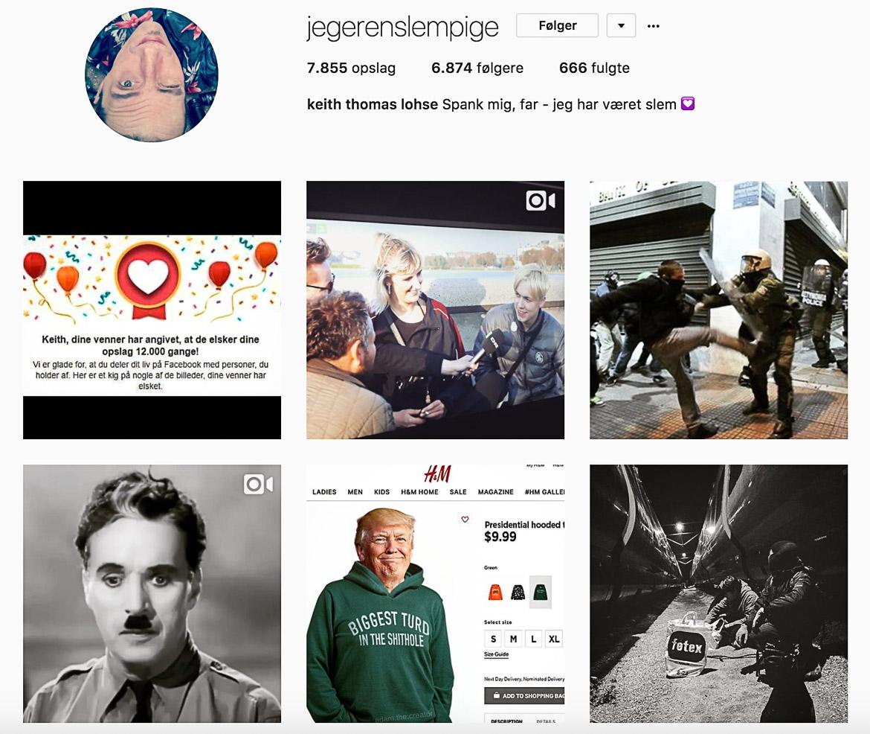 Keith Thomas Lohse instagram